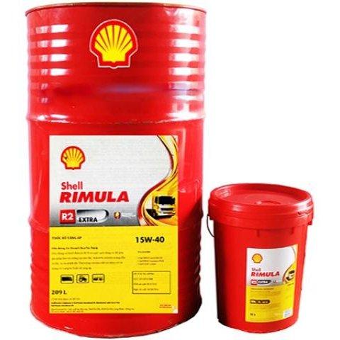 Dầu động cơ Shell Rimula R2 Extra 15W40
