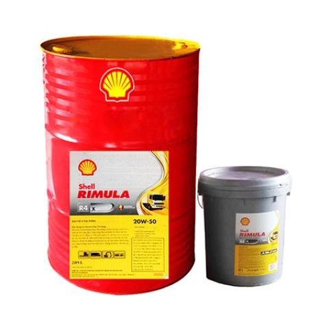 Dầu động cơ Shell Rimula R4X 20W 50 chất lượng, chính hãng