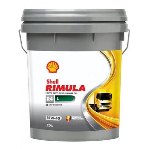 Dầu động cơ Shell Rimula R4L 15W40