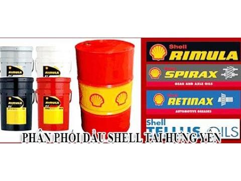 Phân phối dầu Shell tại Hưng Yên giá tốt nhất