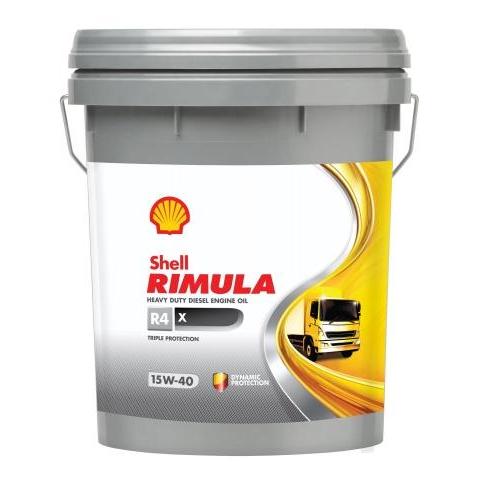 Dầu động cơ Shell Rimula R4X 15W 40