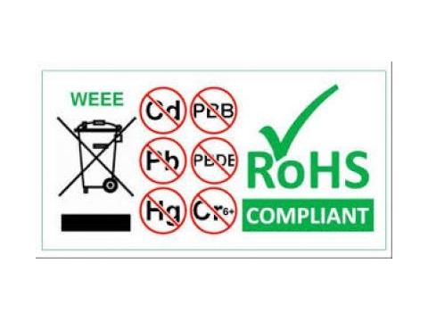 Xác nhận sản phẩm không chứa các chất độc hại được quy định trong tiêu chuẩn RoHS 2